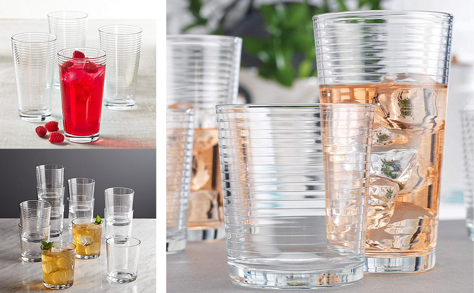 highball glass cups glases glass set drink glasses