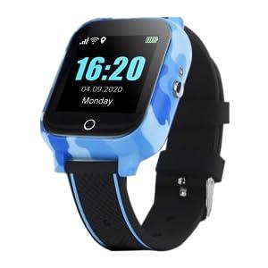 orologio temperatura blu