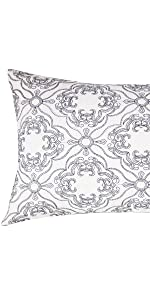 gray decorative pillows