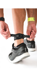 Achilles strap for heel pain and tight achilles and calf tightness