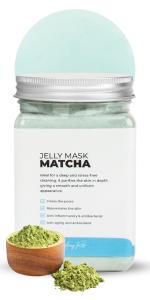 Matcha Lavander Jelly mask hydro jellymask