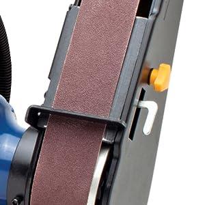 brush burnish furbish sandpaper board counter desk borer broaching machine drill brighten finish