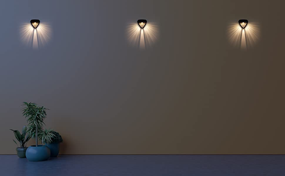 solar lights for home garden lamp waterproof  lanterns hardoll outdoor lighting