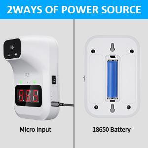 Dos métodos de suministro de energía