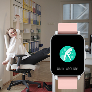 Rogbid smart watch Rowatch 2 sedentary reminder