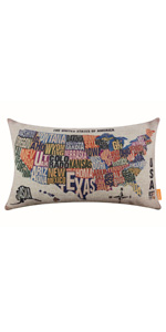 Linkwell Americana Decorative Pillow Cover