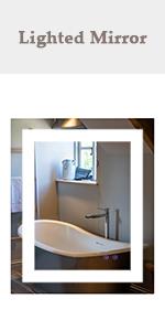 "24"" x 30"" LED Bathroom Mirror"