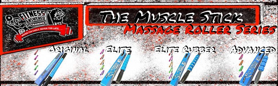 massage stick roller background