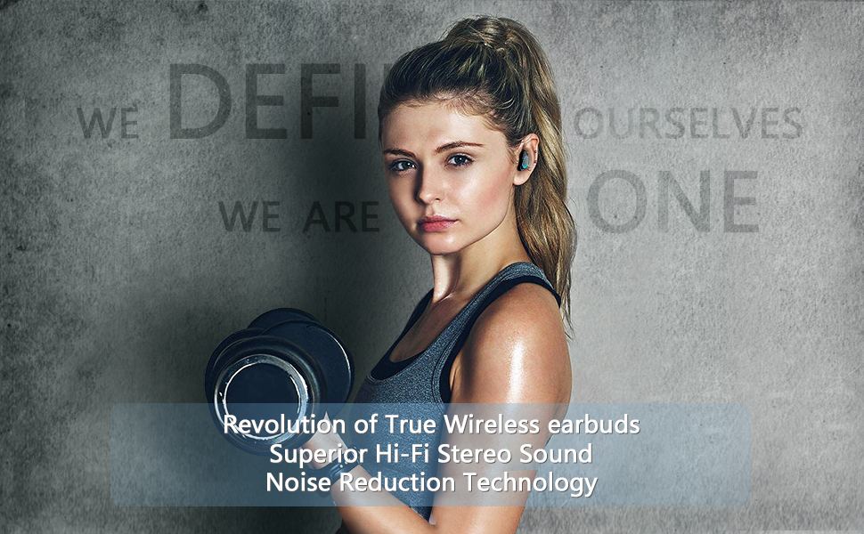True Wireless Earbuds  ABLEGRID Pyxis True Wireless Earbuds, Bluetooth 5.0 Touch Control in-Ear Headphones TWS Earphones with CVC6.0 Mic, 25H Playtime with Charging Case, IPX5 Waterproof Sport Earbuds for Running, Fitness a51048c8 769e 4dd3 9959 fce758c2d8d2