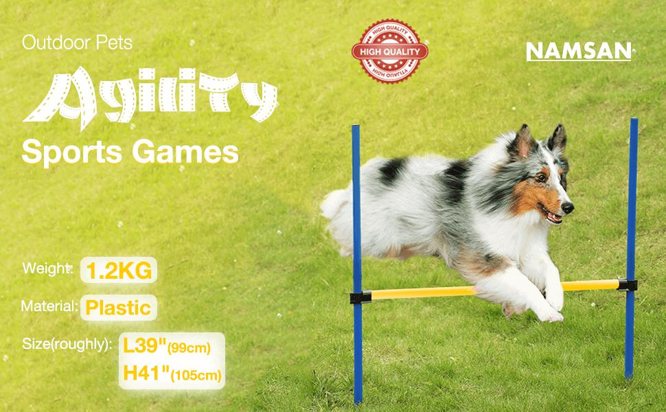Dog Agility Training Equipment by Namsan