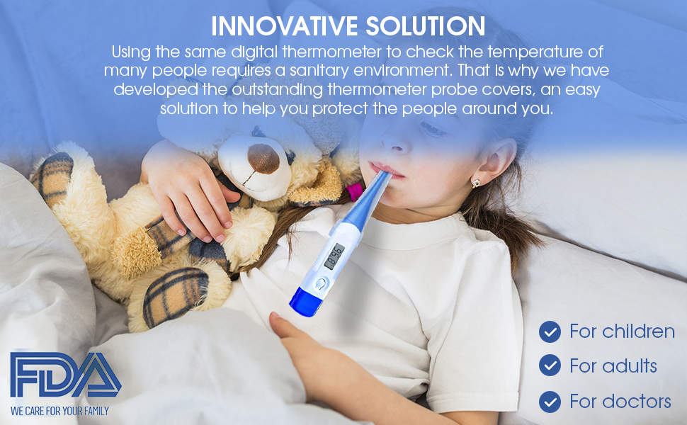 Thermometer Probe Covers innovative solution