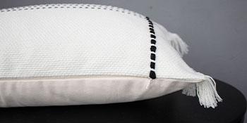 personalized girls friends modern plaid pillowcase big rectangular 16x24 vintage