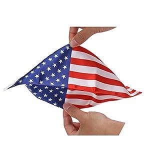 Motorcycle Flag Pole Mount Marine Corps Flag USA Flag American Flag POW MIA Flag
