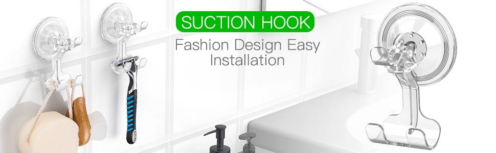Luxear suction hooks razor hooks