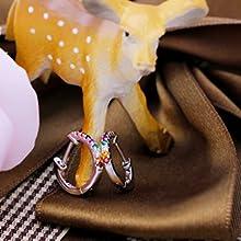Più dettagli di orecchini a cerchio colorati piccoli Huggies