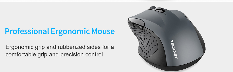 Ergonomic Design Bluetooth Mouse