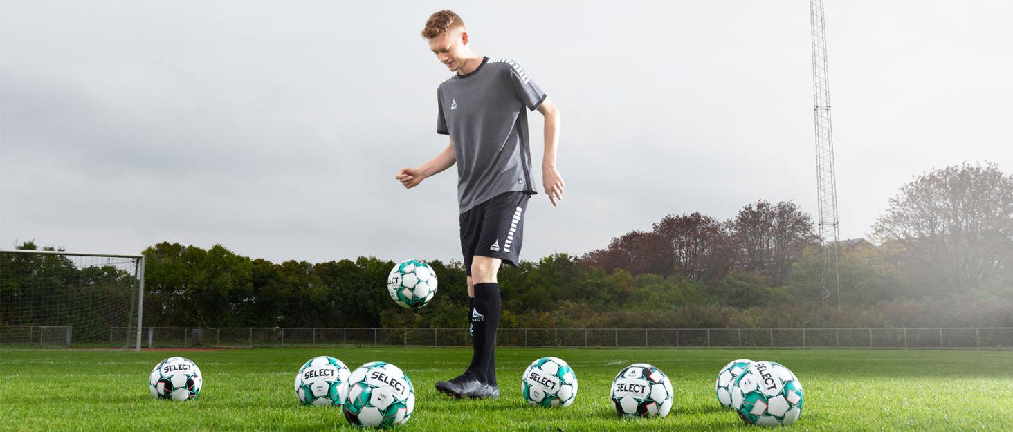select balls on field