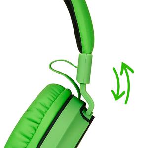 adjustable headband, on ear headphones