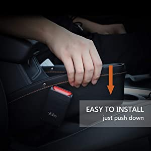 car seat organiser car storage amaze seat gap filler pocket for car new xuv 500 accessories interior