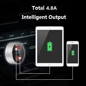 Dual USB Smart Car Charging