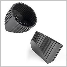 ECP-M5 von Emphaser: Aufbaugehäuse für die Hochtöner, Tweeter
