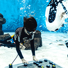 Underwater shooting and live streaming