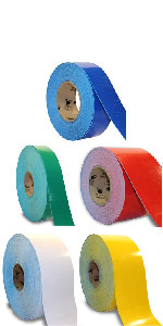 Rolls of smooth tape