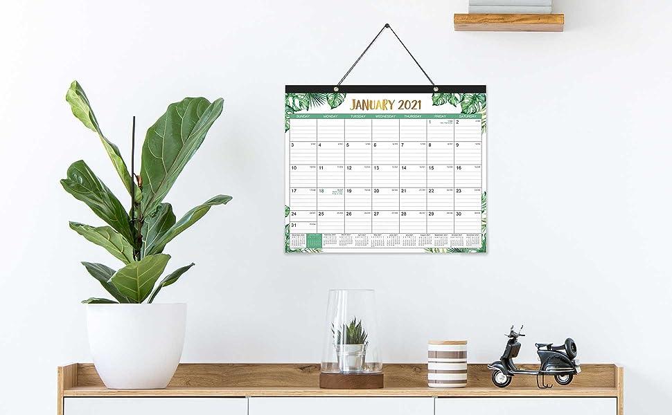 desktop calendar 2021