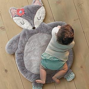 fiona fox playmat soft plush