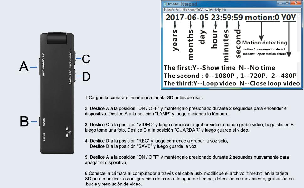 mini cámara portátil