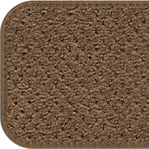 HHamp;M Gray Stair Tread House Home And More Skid-Resistant Bound Olefin Carpet Rubber