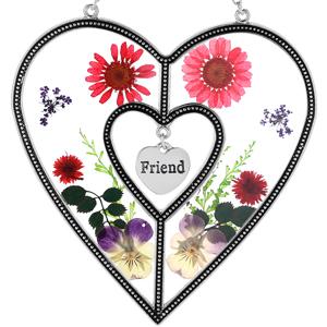 Friend Heart Suncatcher