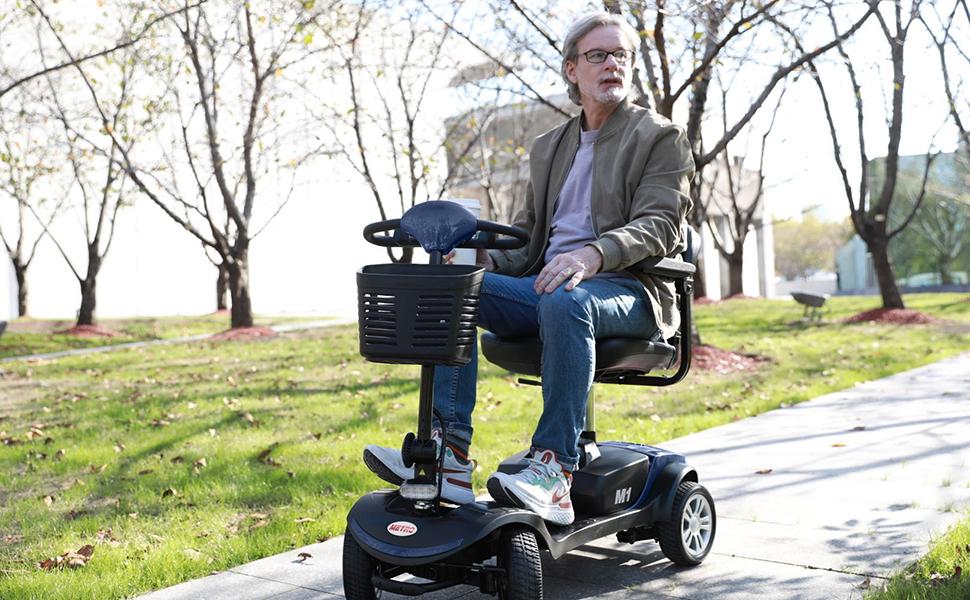 4 wheel mobility scooter for senior