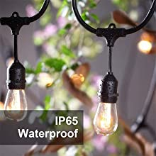 commercial waterproof lights string