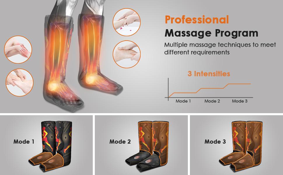 foot and leg massager