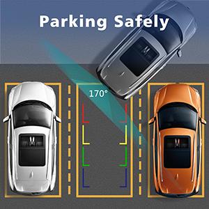 vehicle backup camera backup rear view reverse car parking blind spot waterprooof night vision