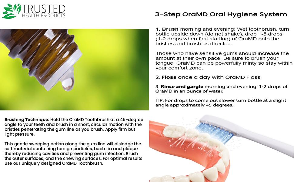 Starter kit floss tooth paste