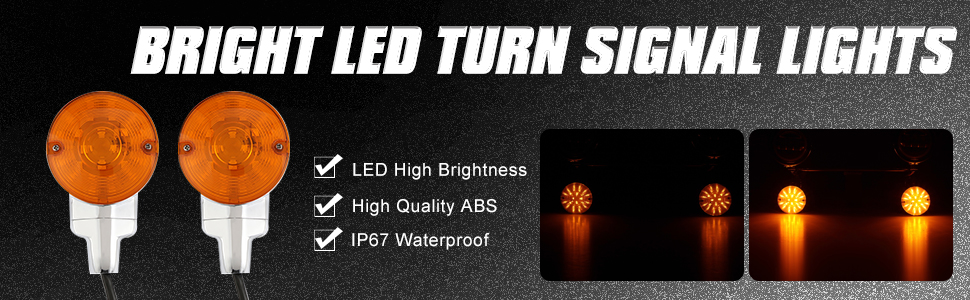 motorcycle turn signal lights