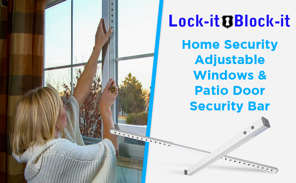 window safety bars inside jams outdoor security jammer block in one rvcare for windows home tools