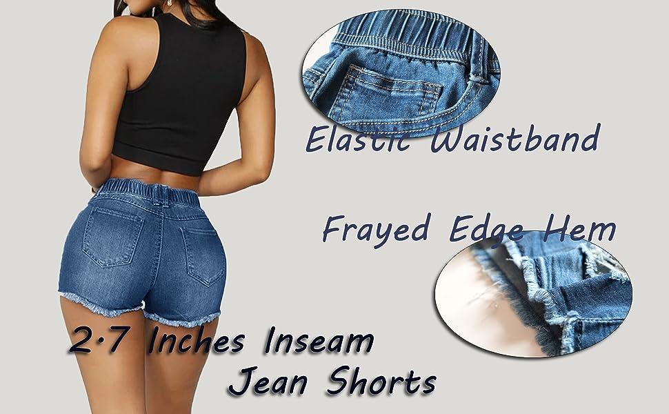 Short Denim Shorts for women