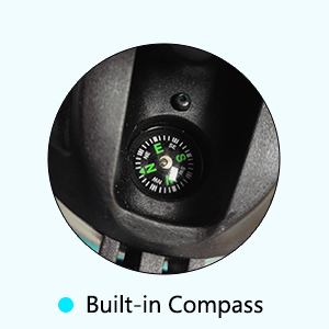 built in compass