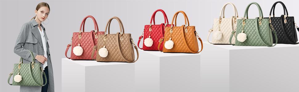 Fashion women top handle bag