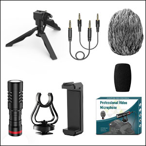 professional video microphone kit