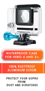 compatible with gopro hero 4 and 3+