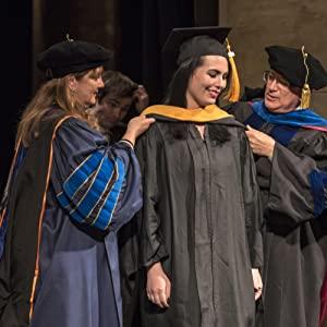 GraduatePro Abschluss Stola Hood Master Universit/ät Absolventen Akademischer Graduierung Zubeh/ör