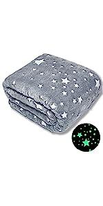 Forestar Glow Blanket Stars