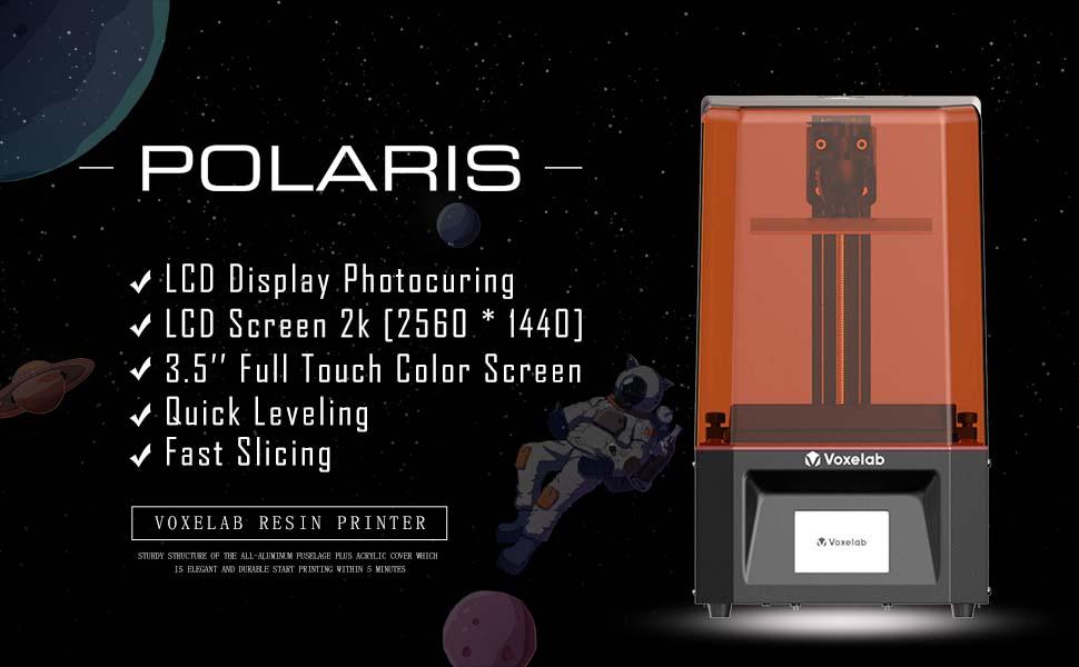 Voxelab Polaris resin 3d printers