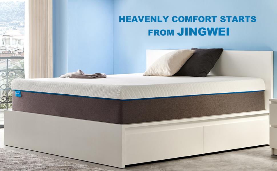 6 inch 8 inch 10 inch 12 inch 14 inch cooling gel memory foam mattress zinus linaspa lucid amazon