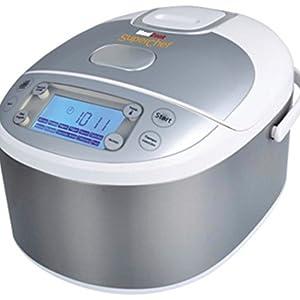 Robot de Cocina Inteligente Superchef CF105S2, 11 funciones de cocción, programable 24 horas,: Amazon.es: Hogar