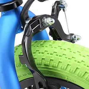 BIKESTAR Bicicleta Infantil para niños y niñas Bici 16 Pulgadas con Frenos BMX
